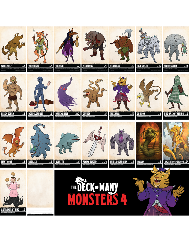 TDoM Deck of Many - Monsters 4