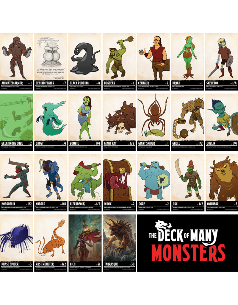 TDoM Deck of Many - Monsters 1 (EN)