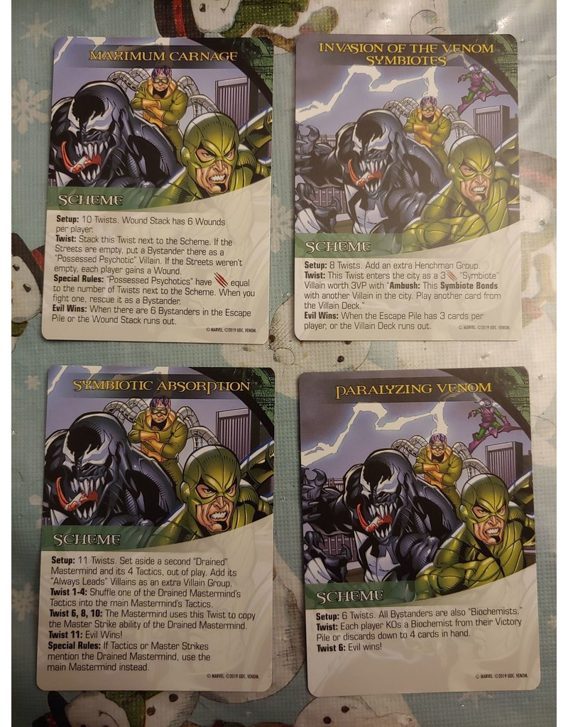 Upper Deck Entertainment Marvel Legendary Venom