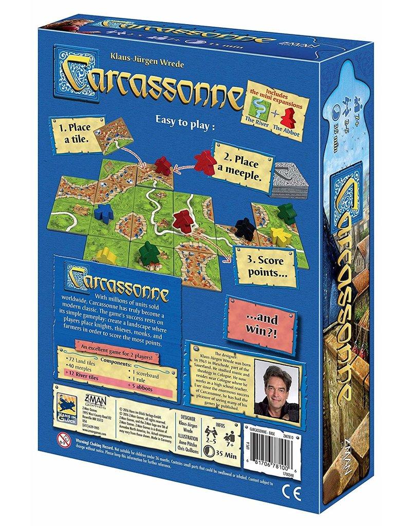 Z-man games Carcassonne (EN)