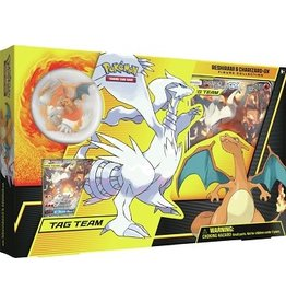 Pokemon Reshiram and Charizard-GX Figure Coll PRECOMMANDE
