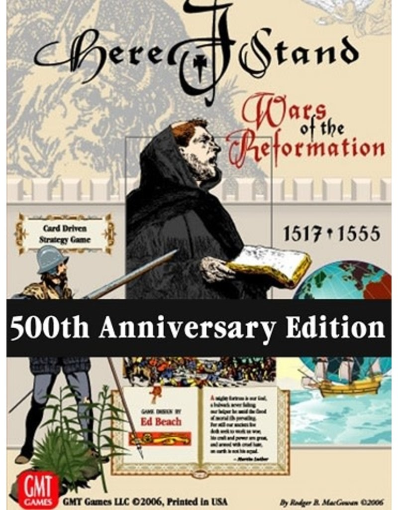 Here I Stand 500th Anniversary Edition (EN)