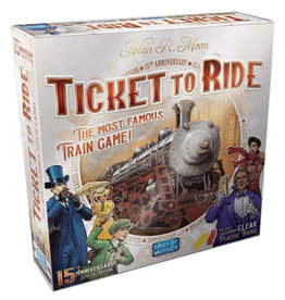 Days of Wonder Ticket To Ride 15th Anniversay Edition