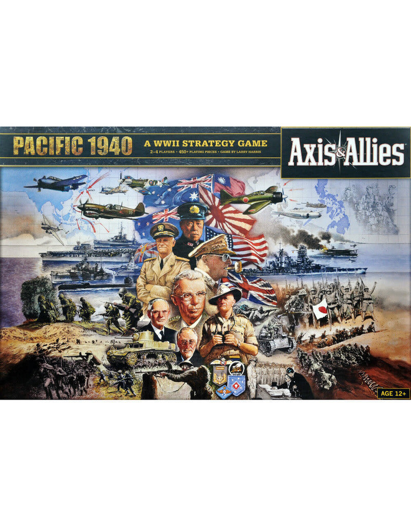 Avalon Hill Games Axis and Allies: Pacific 1940