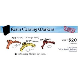 Leder Games Root: Resin Clearing Markers PRECOMMANDE