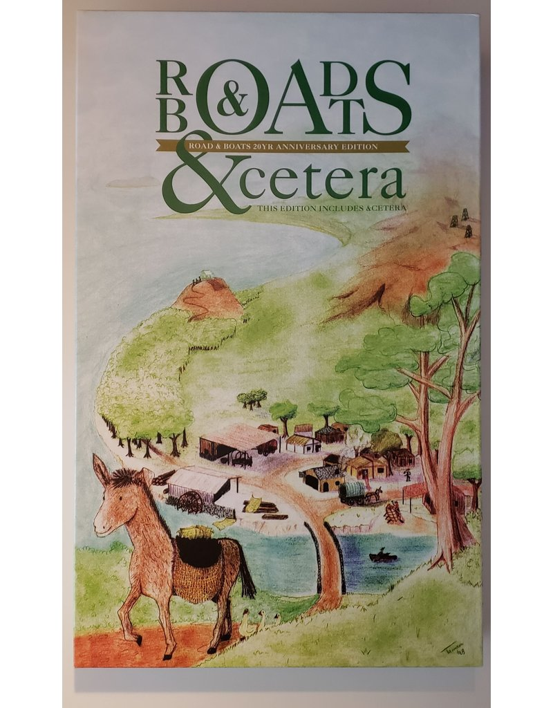 Splotter Roads and Boats 20th Anniversary Edition (EN) PRÉCOMMANDE