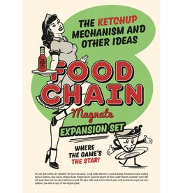 Splotter Food Chain Magnate - The Ketchup Mechanism (EN) PRÉCOMMANDE
