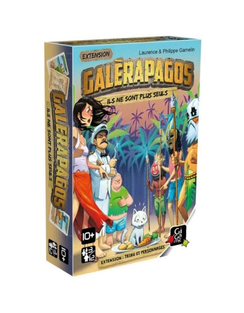 Gigamic Galérapagos - Tribu et personnages