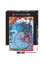 Puzzle - 1000mcx, Red Limited, Bike Art