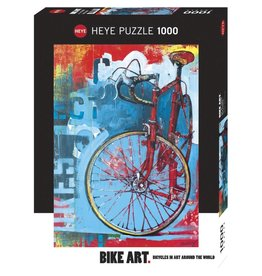 Heye Puzzle - 1000mcx, Red Limited, Bike Art