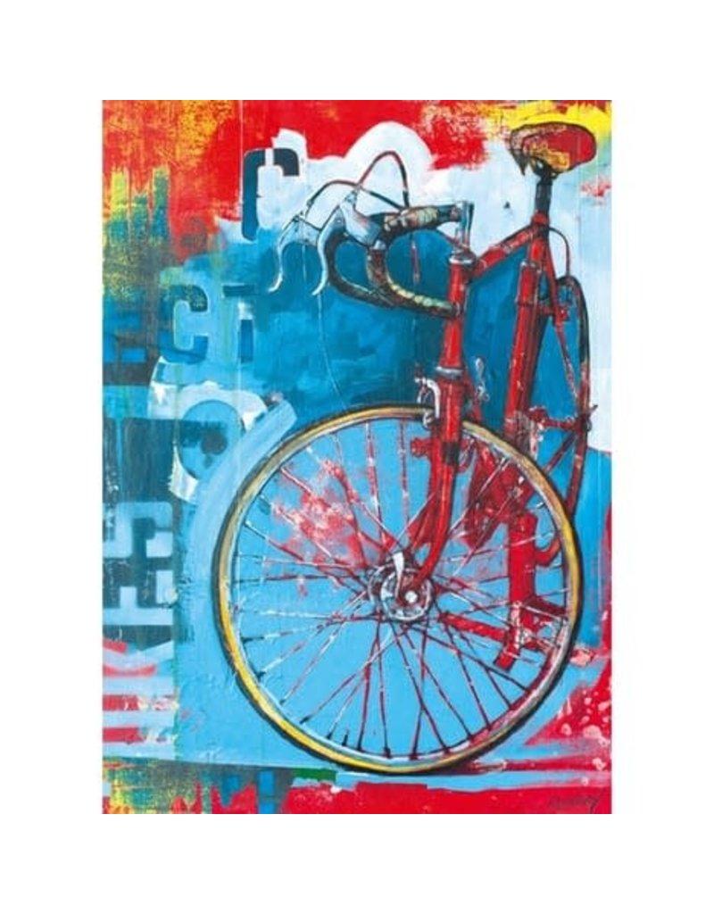 Heye Puzzle - 1000mcx, Red Limited, Bike Art