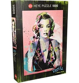 Heye Puzzle - 1000mcx, People, Marilyn, Cheuk
