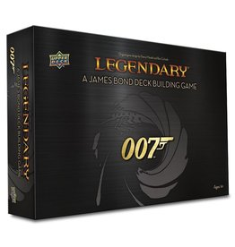 Upper Deck Entertainment Legendary 007 James Bond card game