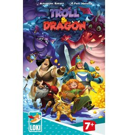 Iello jeu board game Troll & Dragon (EN/FR)