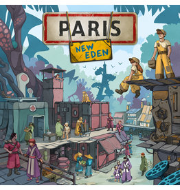 Matagot jeu board game Paris New Eden (EN/FR) PRÉCOMMANDE