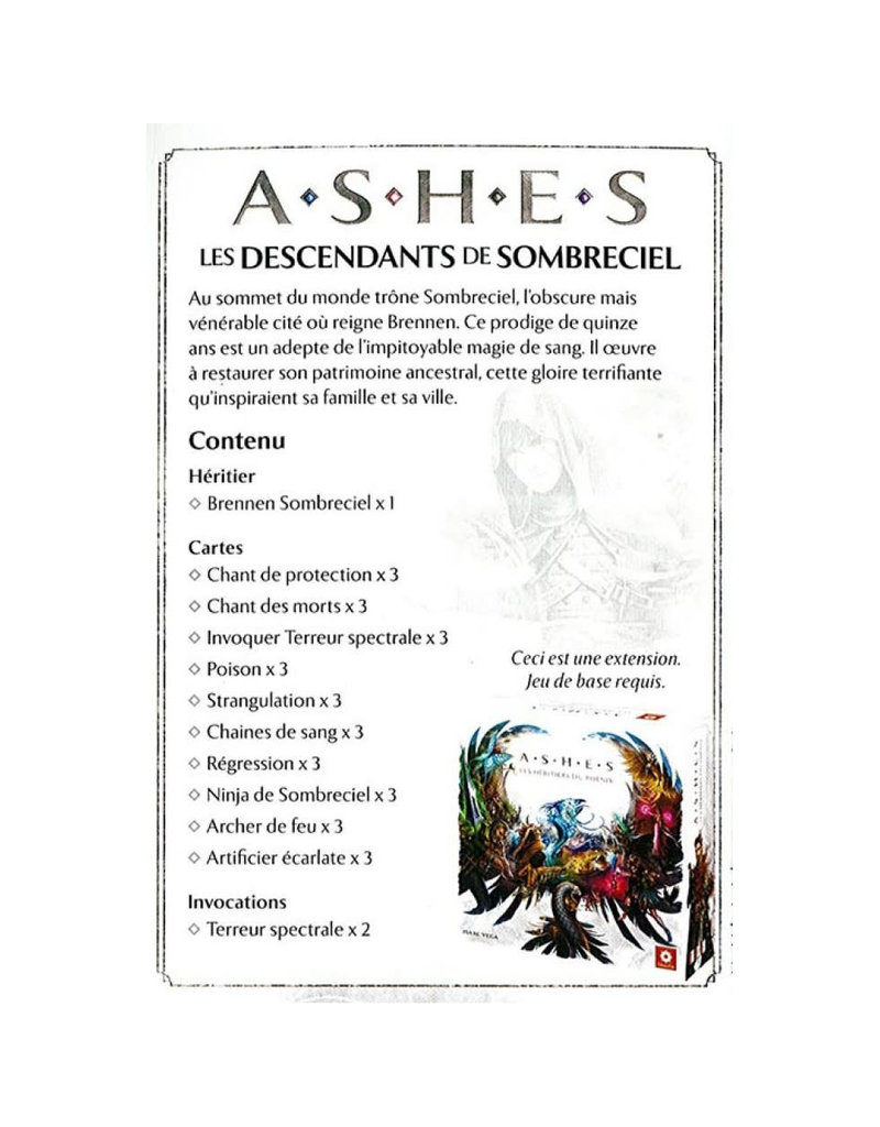 Filosofia Ashes
