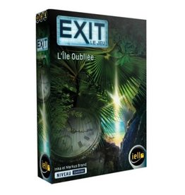 Iello jeu board game Exit - L'Île Oubliée (FR)