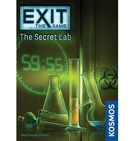Iello jeu board game Exit - Le Laboratoire Secret (FR)