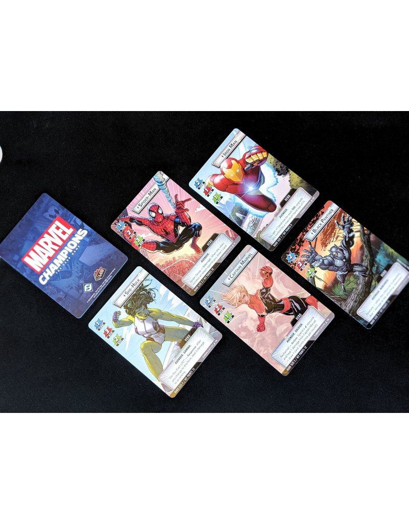 Fantasy Flight Games Marvel Champions - Le jeu de cartes PRÉCOMMANDE