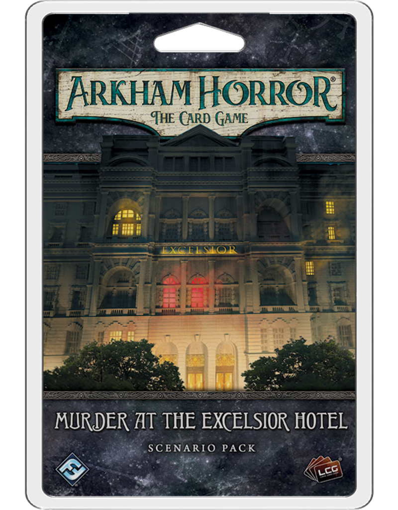 Fantasy Flight Games Arkham Horror LCG - Murder at the Exelsior Hotel (EN)