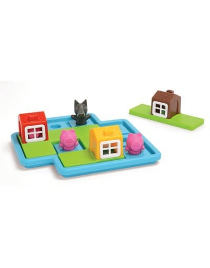 Smart Games jeux board games Les 3 petits cochons Deluxe