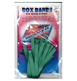 Flying Buffalo Inc jeux board games Rubber box bands VERT 8-po