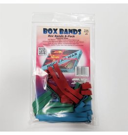 Flying Buffalo Inc jeux board games Rubber box bands Ass. 6-8-10-po