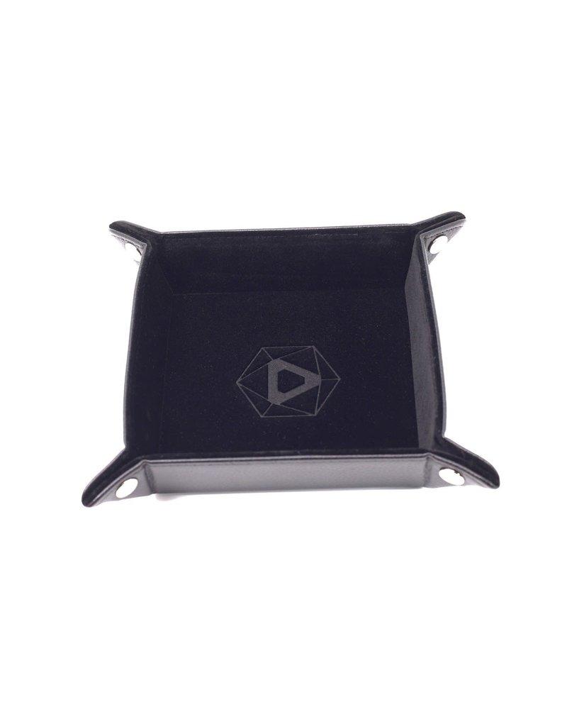 Die Hard Folding Square Tray w/ Black Velvet
