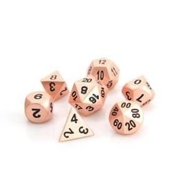Die Hard Metal RPG Dice Set - Brilliant Copper