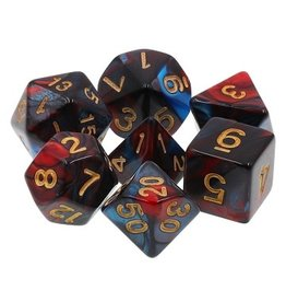 Tasty Minstrel Games (TMG) Dés TMG Fusion 16mm Red/Blue Red Son