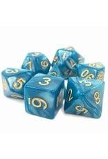 Tasty Minstrel Games (TMG) Dés TMG 16mm Opaque Blue Pearl Sleepy Sky