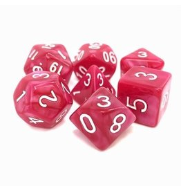 Tasty Minstrel Games (TMG) Dés TMG Opaque 16mm Rose Pearl Coral Grief