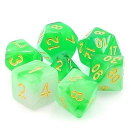 Tasty Minstrel Games (TMG) Dés TMG 16mm Translucent Green Haze