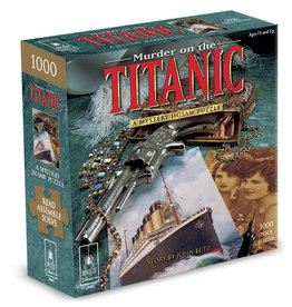 "Bepuzzled Puzzle - Murder on the Titanic 1000mcx 23""x29"""