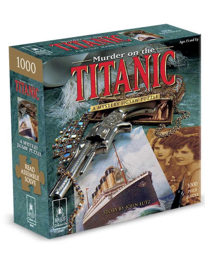 "Bepuzzled Puzzle - Murder on the Titanic 1000mcx 23""x29"""