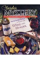 University Games Murder Mystery - A Taste for Wine and Murder