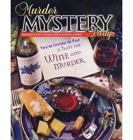 University Games Murder Mystery - A Taste for Wine and Murder