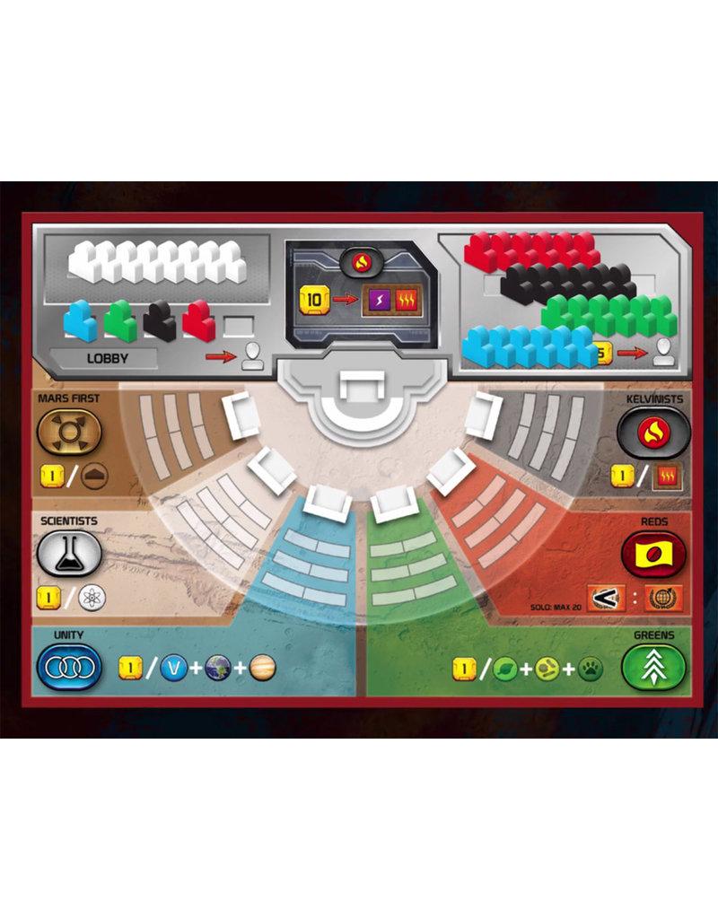 Stronghold Games jeu board game Terraforming Mars - Turmoil (EN) PRECOMMANDE