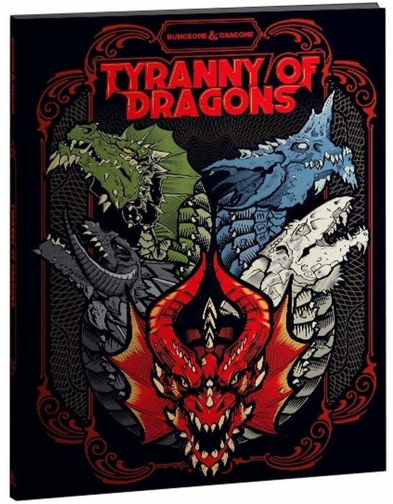 Wizards of the Coast D&D Tyranny of Dragons (Alternative Cover)(EN)