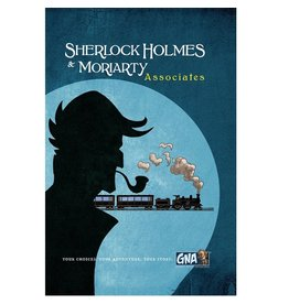 Van Ryder Games Sherlock Holmes and Moriarty - Associates (EN)