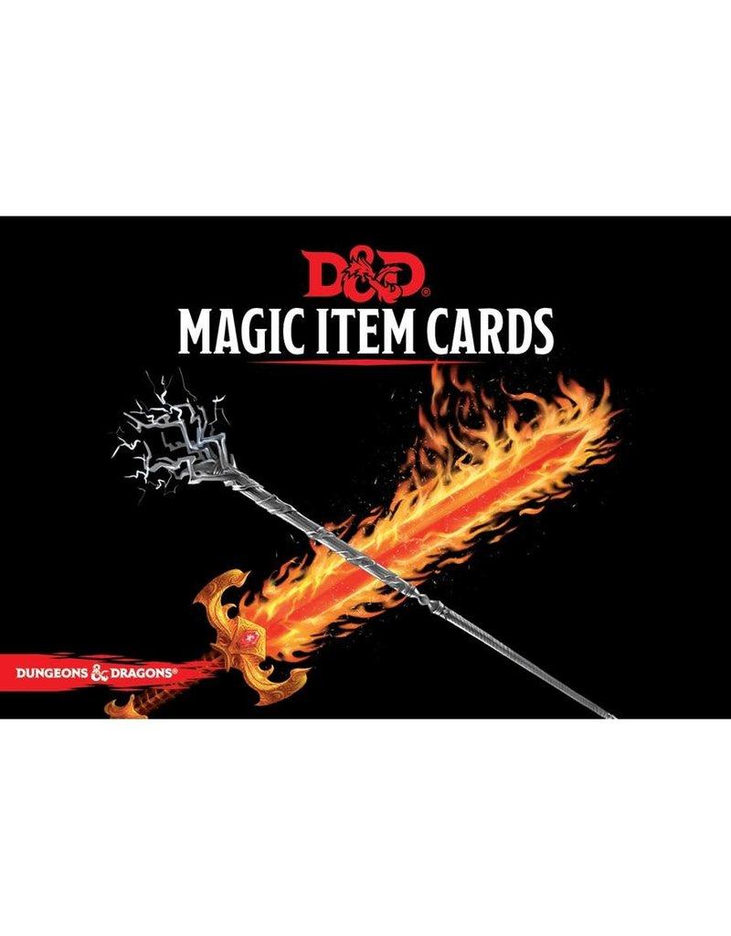 Wizards of the Coast D&D - Magic Item Cards (EN)
