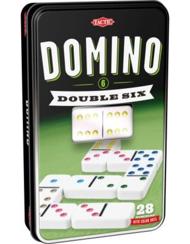 Tactic Dominoes - Double 6