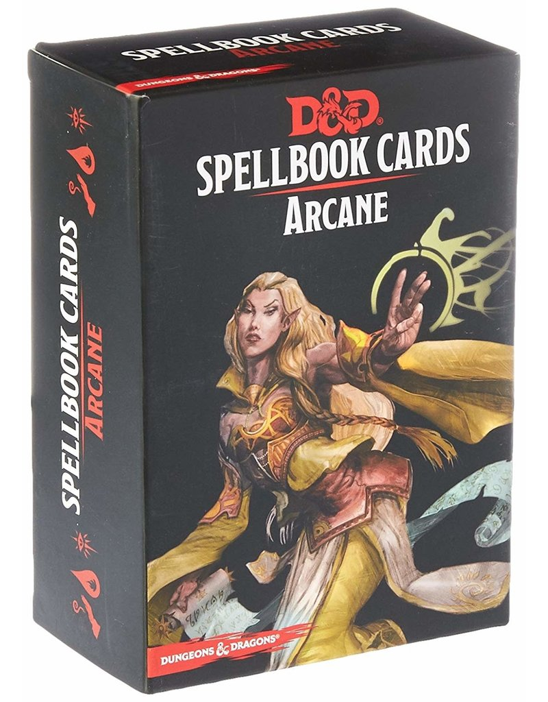 Wizards of the Coast D&D Spellbook Cards Arcane