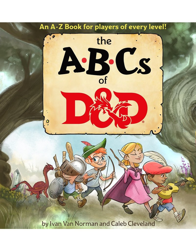 Wizards of the Coast ABC's of D&D Children's Book