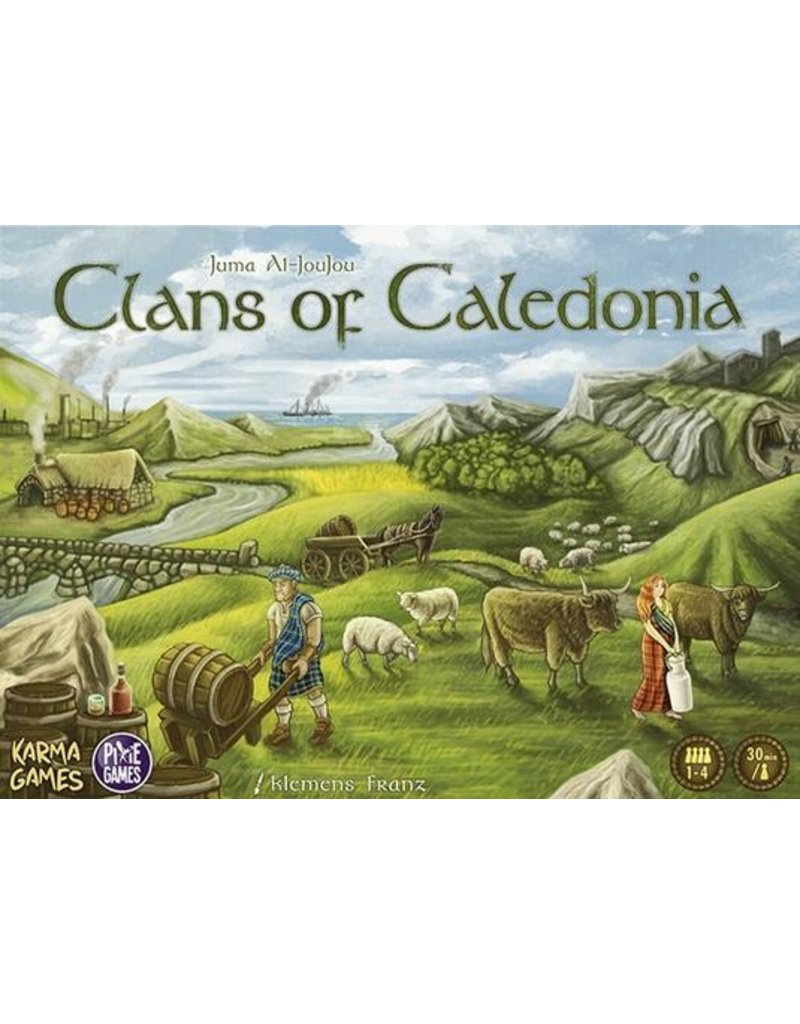 Pixie games Clans of Caledonia (FR)