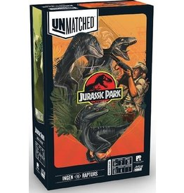 Restauration games Unmatched Jurassic Park - Ingen VS Raptors (EN)