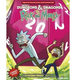 WOTC - RPG D&D VS Rick & Morty (EN) PRÉCOMMANDE