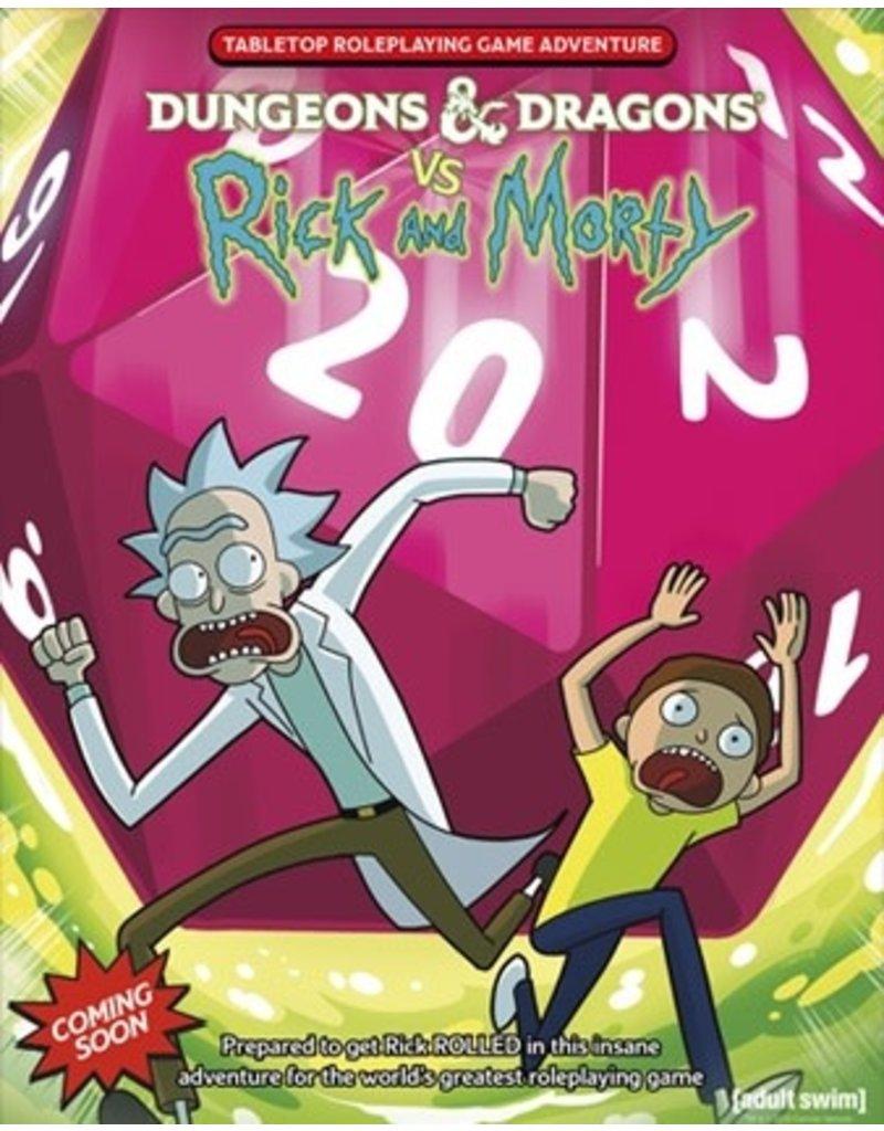 WOTC - RPG D&D VS Rick & Morty (EN) PRÉCOMMANDE