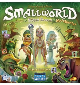 Days of Wonder Small World - Power Pack 2 - Honneur aux Dames - Maaauudits ! (FR)