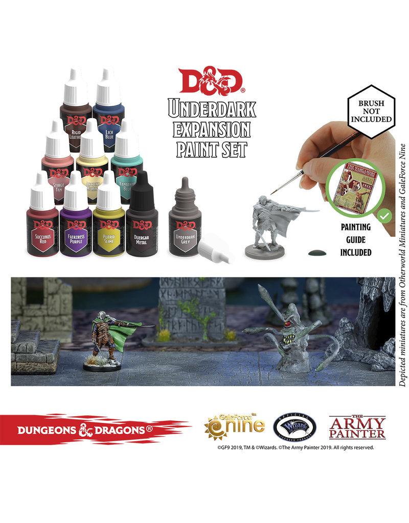 Wizards of the Coast D&D Nolzur's Underdark Paint Set